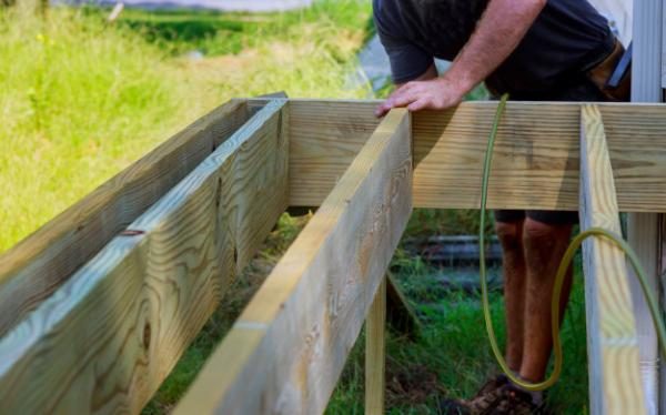 Cost of Timber Decking Installation Services